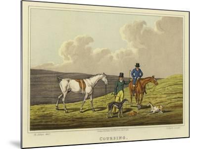 Coursing-Henry Thomas Alken-Mounted Giclee Print
