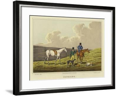Coursing-Henry Thomas Alken-Framed Giclee Print