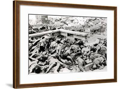 Victims of the Japanese Air Raid, Chungking, 1940--Framed Photographic Print