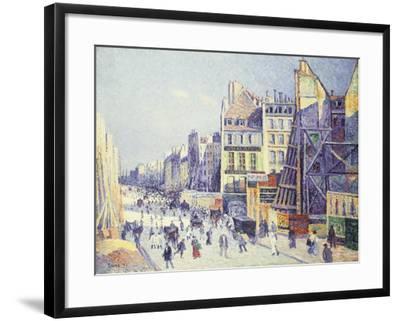 La Rue Reaumur, 1897-Maximilien Luce-Framed Giclee Print