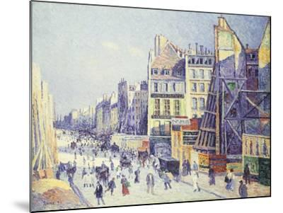 La Rue Reaumur, 1897-Maximilien Luce-Mounted Giclee Print