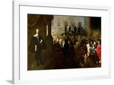 Execution of Charles I-Gonzales Coques-Framed Giclee Print