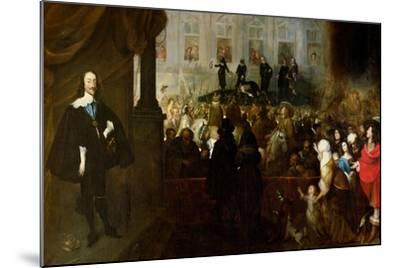 Execution of Charles I-Gonzales Coques-Mounted Giclee Print