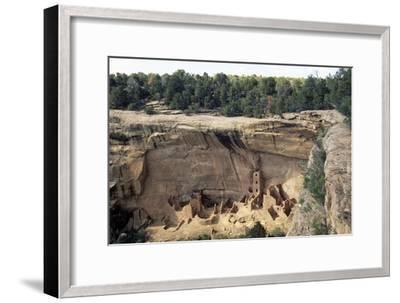 Square Tower House, Mesa Verde National Park--Framed Photographic Print