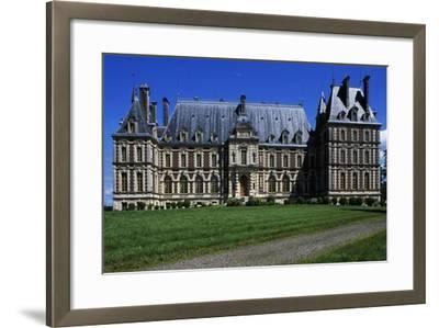 Villersexel Castle--Framed Giclee Print