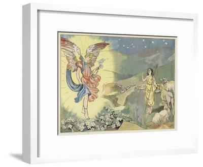 The Christmas Rose-John Shenton Eland-Framed Giclee Print