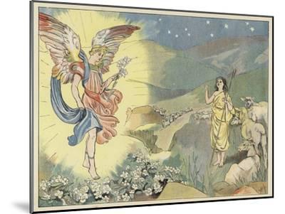 The Christmas Rose-John Shenton Eland-Mounted Giclee Print