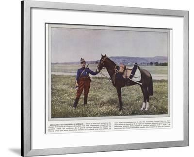 Brigadier De Chasseurs D'Afrique-Jules Gervais-Courtellemont-Framed Photographic Print
