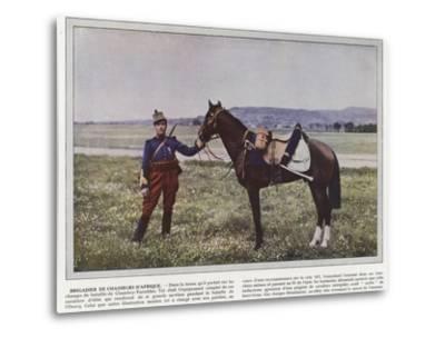 Brigadier De Chasseurs D'Afrique-Jules Gervais-Courtellemont-Metal Print