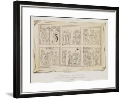 Allegorical Compositions--Framed Giclee Print