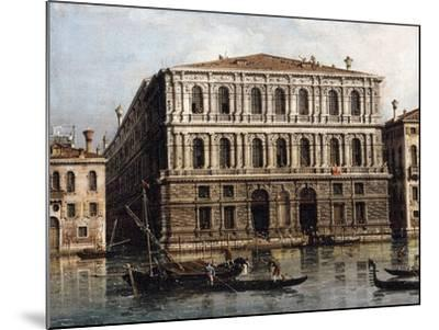 The Palazzo Pesaro from the Grand Canal, Venice--Mounted Giclee Print