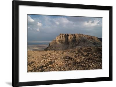 View of Masada--Framed Photographic Print