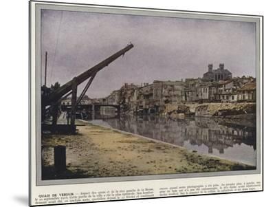Quais De Verdun-Jules Gervais-Courtellemont-Mounted Photographic Print