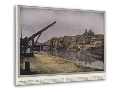 Quais De Verdun-Jules Gervais-Courtellemont-Metal Print