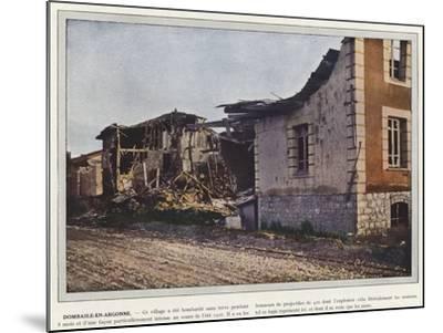 Dombasle-En-Argonne-Jules Gervais-Courtellemont-Mounted Photographic Print