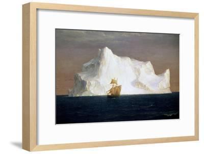 Iceberg, 1891-Frederick Edwin Church-Framed Giclee Print