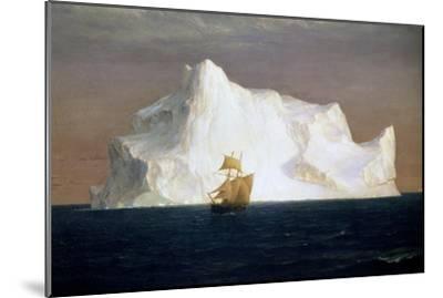 Iceberg, 1891-Frederick Edwin Church-Mounted Giclee Print