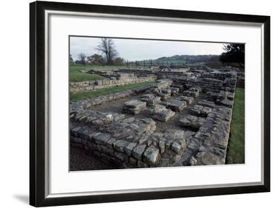 Ruins of Chesters Roman Fort, Hadrian's Wall--Framed Photographic Print