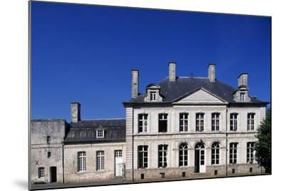Facade, Chateau De Duisans--Mounted Giclee Print