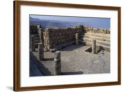 Synagogue, Masada--Framed Photographic Print