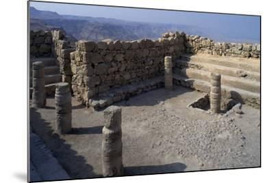 Synagogue, Masada--Mounted Photographic Print