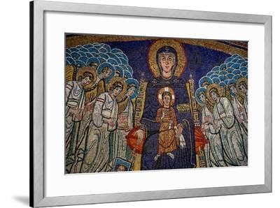 The Apse with the Virgin and Child with Donor--Framed Giclee Print