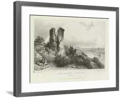 Hadleigh Castle, Essex-William Henry Bartlett-Framed Giclee Print