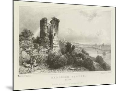 Hadleigh Castle, Essex-William Henry Bartlett-Mounted Giclee Print