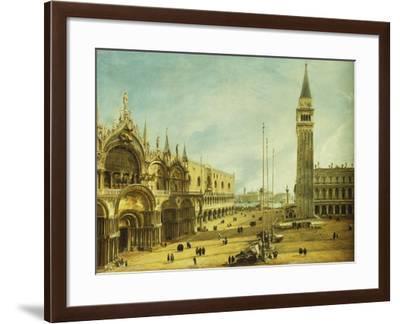 The Piazza San Marco, Venice-Michele Marieschi-Framed Giclee Print