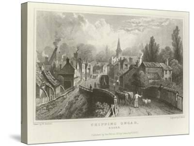 Chipping Ongar, Essex-William Henry Bartlett-Stretched Canvas Print