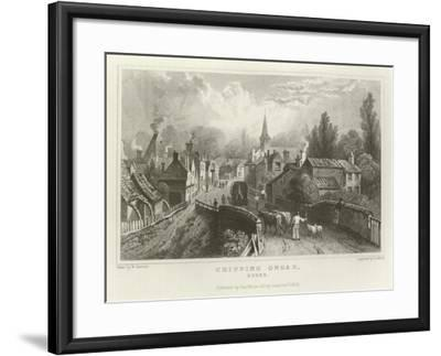 Chipping Ongar, Essex-William Henry Bartlett-Framed Giclee Print