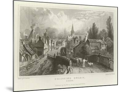 Chipping Ongar, Essex-William Henry Bartlett-Mounted Giclee Print