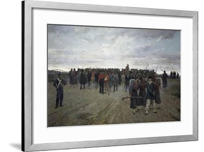 Return from Mentana-Onorato Carlandi-Framed Giclee Print