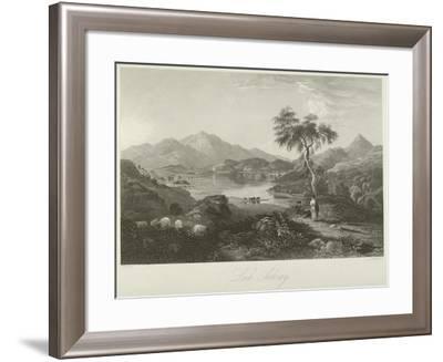 Loch Achray--Framed Giclee Print