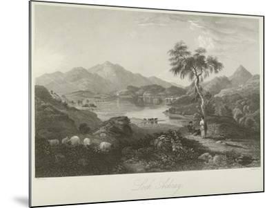 Loch Achray--Mounted Giclee Print