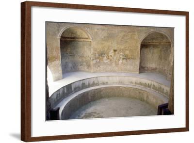 Forum Baths, Pompeii--Framed Photographic Print