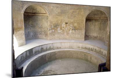 Forum Baths, Pompeii--Mounted Photographic Print