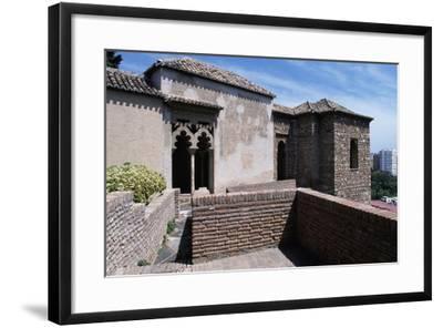 View of Alcazaba of Malaga--Framed Giclee Print