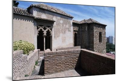 View of Alcazaba of Malaga--Mounted Giclee Print