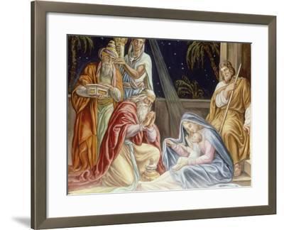 Adoration of the Wise Men-Julius Schnorr von Carolsfeld-Framed Giclee Print