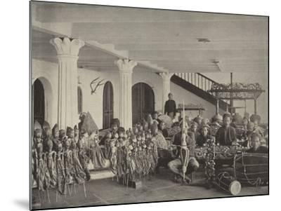 The Javanese Orchestra--Mounted Photographic Print