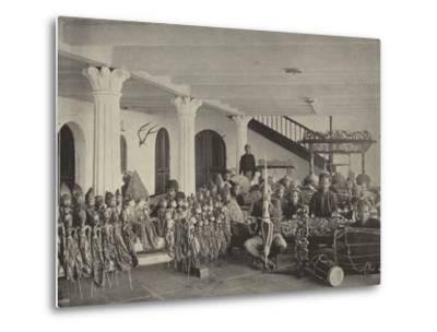 The Javanese Orchestra--Metal Print