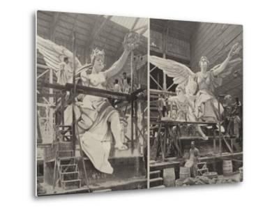 Making the Angels--Metal Print