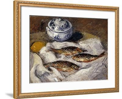 Herring and Tureen; Harengs Et Soupiere, C.1925-Gustave Loiseau-Framed Giclee Print