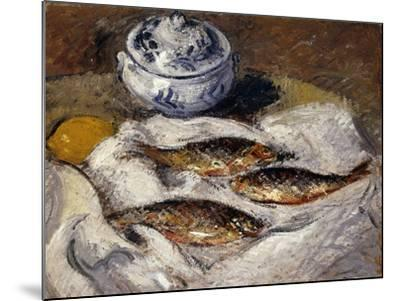 Herring and Tureen; Harengs Et Soupiere, C.1925-Gustave Loiseau-Mounted Giclee Print