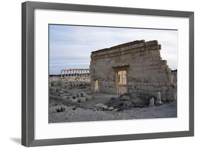 Agora, Palmyra--Framed Photographic Print