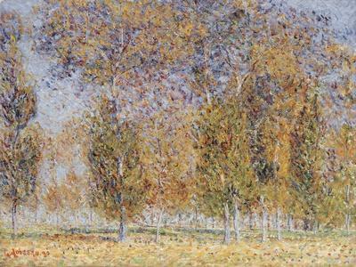 Autumn Impression, Saint-Cyr-Du-Vaudreuil, 1899-Gustave Loiseau-Framed Giclee Print