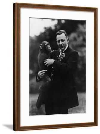 Portrait of German Zoologist Ludwig Zukowsky--Framed Photographic Print