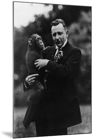 Portrait of German Zoologist Ludwig Zukowsky--Mounted Photographic Print