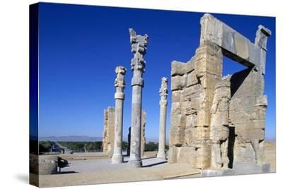 Gate of All Nations or of Xerxes, Persepolis--Stretched Canvas Print